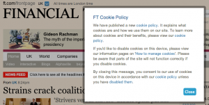 Financial Times Cookies