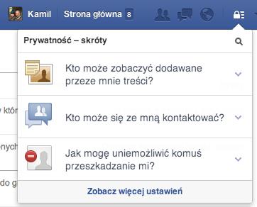 Facebook prywatnosc